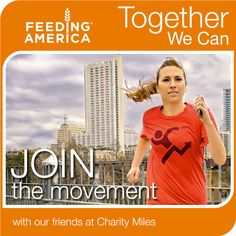 We're launching our #TogetherWeCan Solve Hunger Campaign w/partner @CharityMiles Join our team today! po.st/u29bdX