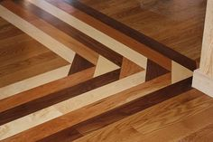 Wood Floor Inlay: Ideas for Faux Inlay