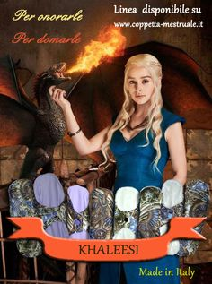 Khaleesi!. The Limited Edition Cloth Padas Made in In Italy. https://www.coppetta-mestruale.it/assorbenti_lavabili.php