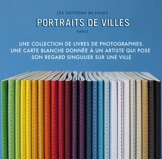 Portraits de Villes - stadsgidsen fotografie - boutique.be-poles.com