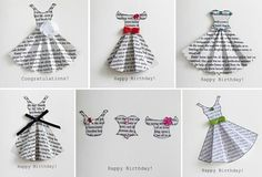 Buch-Print-Kleid Karte Vorlage Modello di carta vestito stampa libro Buch-Print-Kleid Karte Vorlage Book print dress card template of birthday Origami Vestidos, Book Crafts, Paper Crafts, Diy Paper, Origami Paper, Origami Dress, Dress Card, Diy Dress, Mothers Day Cards