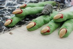Creepy Witch Finger Cookies - Simply So Good