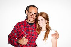 Terry Richardson and Lana Del Rey #1