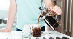 Learn how to make this refreshing drink using a coffee press