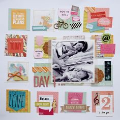 Layout by Sam with the May 2013 kits from Citrus Twist