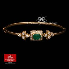 Elegant gold bangles collections by Kameswari Jewellers. Buy gold bangles online from South India's finest goldsmiths with 9 decades of expertise. Plain Gold Bangles, Ruby Bangles, Gold Bangles Design, Gold Earrings Designs, Gold Jewellery Design, Indian Gold Bangles, Necklace Designs, Gold Bangles For Women, Vanki Designs Jewellery