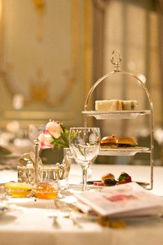 Tea at the Alvear Palace Hotel