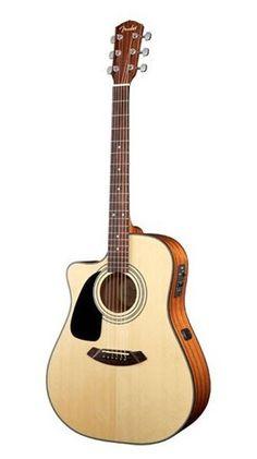 Fender Cd100ce Nt Zurdos