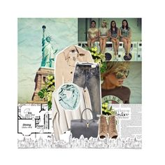 """""""You're in New York now, be ready for anything"""" by ipeace-1899 ❤ liked on Polyvore"""