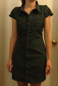 Mens shirt Refashioned Dresses