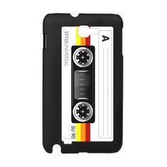 Cassette tape horizontal Galaxy