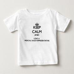 Keep Calm and Love a Medical Sales Representative T Shirt, Hoodie Sweatshirt