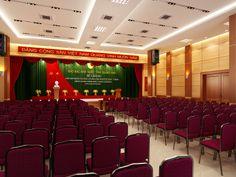thiết kế hội trường trung ương đảng