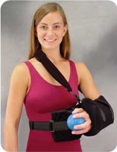 Super Sling Plus Universal | Shoulder Immobilizer Support Brace by BirdCronin. $84.99. CHEAPEST - Super Sling Plus UniversalAdjustable universal sling can be folded for proper fitFor support and abduction after rotator cuff repairIncludes a removable positioning pillow that provides an additional 10˙ to 15˚ of abduction from neutral positionEasy open sling to allow for forearm exercisesExercise ball encourages exercise and stimulates circulationAdjustability allows arm to be ...