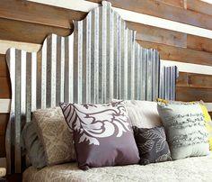 DIY Headboard Ideas   Industrial Strength   DIY Bedroom Decorating Ideas