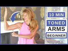 10 minute toned Toned arms workout for women over no equipment and suitable for beginners and seniors. Tone your arms and get rid of Flabby arms and Bat . Toned Abs Workout, Workout Hiit, Upper Body Workout Routine, Dumbbell Arm Workout, Workout Routines, Cardio, 14 Day Workouts, Good Arm Workouts, Toning Workouts