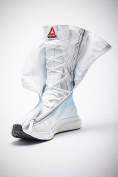 Reebok has unveiled a new space boot created specifically to be worn by astronauts in an upcoming voyage to the International Space Station.