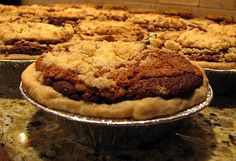 pennsylvania dutch shoo fly pie....sure do miss this, grammy's was the best