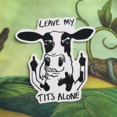 2 High quality vinyl stickers featuring my original cow design. You can stick these on anything and theyll look great! Lots of people put them on their cars and they are still in perfect condition after months! (Maybe longer we just havent got that far yet!) This sticker is perfect for all your dairy free desires. I ship worldwide! Shipping Information: I aim to send all items within 3 days of purchase. The shipping estimates below are guidelines for the arrival time of your item after...