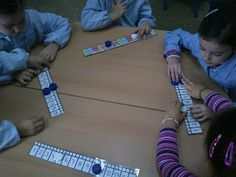 ABN en Serafina Andrades: Inf 5 Numeración con regleta y tapones School, Projects, Blog, To Tell, Scrappy Quilts, Educational Activities, Maths Area, Ticks, Log Projects