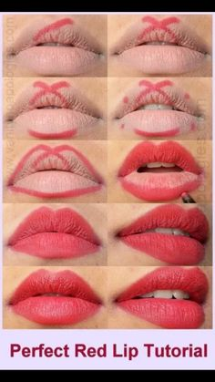 How to properly Line Lips & fill for matte finish / base.  Younique Moodstruck Liners are smudge proof & water resistant