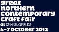 The Great Northern Contemporary Craft Fair ( GNCCF) is the North's leading and award winning selected selling show featuring over 150 of the best independent designers and makers in the UK