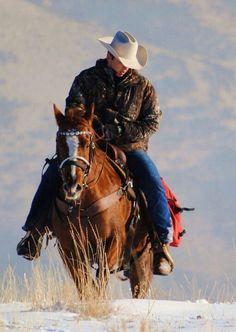 Cowboy x la nieve