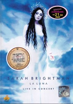 SARAH BRIGHTMAN La Luna Live In Concert DVD NEW NTSC Region All Free Shipping