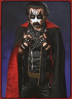 King Diamond in the 1980's