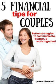 I love these financial tips for couples. Learn how to more effectively communicate, budget, and work together to achieve your goals!