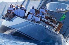 yacht Ranger at the 2013 Maxi Yacht Rolex Cup