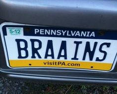 Of course its a pa plate...lol!