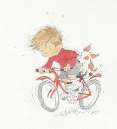 Rower, rozładuje każdy nadmiar energii. A świetne rysunki aż miło się ogląda :)