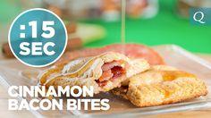 Cinnamon Bacon Bites - #15SecondRecipe