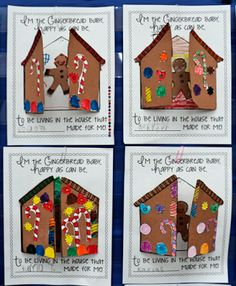 Grade ONEderful: Gingerbread houses