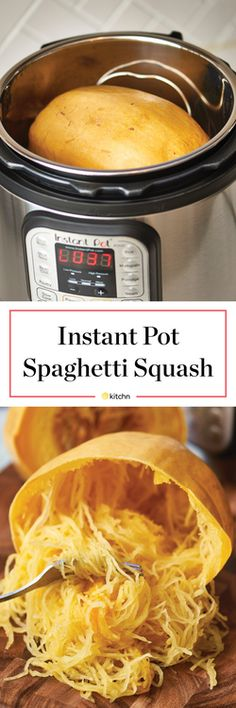 How To Cook Spaghetti Squash in an Electric Pressure Cooker | Kitchn