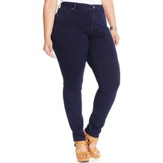 Ashley Stewart Ultra Soft Jegging ($40) ❤ liked on Polyvore ...