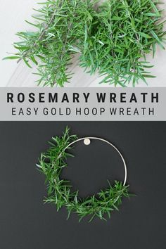 DIY Rosemary and Gol