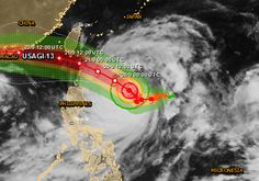 Typhoon Usagi strengthens to Super-Typhoon - approaching Philippines, Taiwan and China Posted by Adonai on September 19, 2013