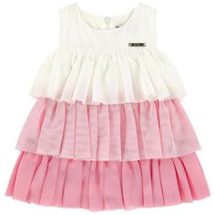 Mayoral - Dress with tulle flounces - 173993