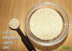 Semințe de Susan Beneficii Natural Remedies, Flora, Cooking, Health, Drink, Books, Therapy, Salads, Kitchen