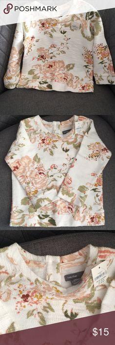Baby Gap Floral Sweatshirt Baby gap floral sweatshirt, 18-24 months GAP Shirts & Tops Sweatshirts & Hoodies