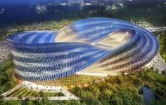 All images: Vincent Callebaut Architectures Mobius strips hover somewhere in…