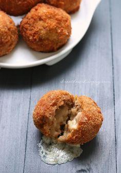 Chicken Cordon Bleu Meatballs