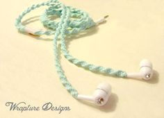 Wrapped Earbuds / Tangle Free Headphones  by WraptureDesigns, $25.00