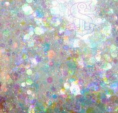 """Mix glitter """"As the world falls down"""" 4gr, nail art, ricostruzione unghie, resina trasparente, olografico, iridescente"""