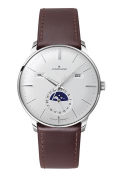 Ref. Nr. 027/4200.00 - First built in the 1930s and improved by further refinements into the 1960s today, the elegant Meister watches bear eloquent witness to Junghans' expertise in mechanical watchmaking.