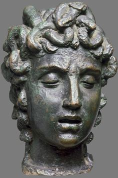 Benvenuto Cellini,(1500-1571) Head of Medusa -V&A Search the Collections