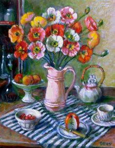 Margaret Olley Poppies c2005
