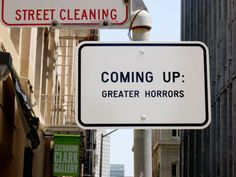 coming up: greater horrors
